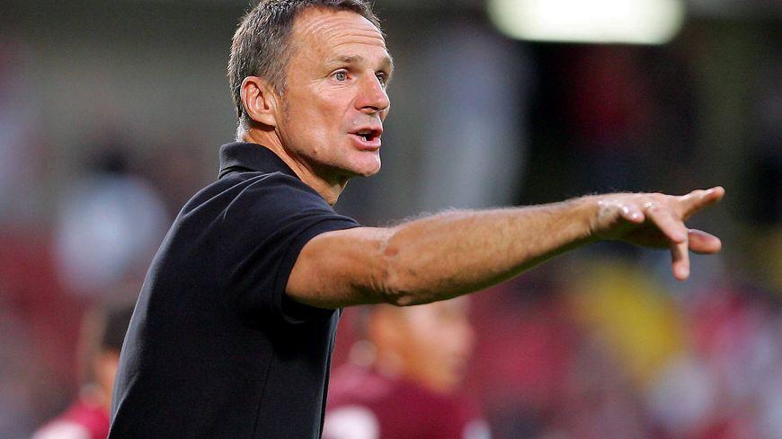 Albert Cartier entraîneur du FC Metz football