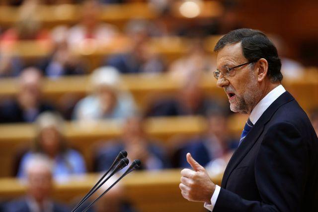 Mariano Rajoy s'explique devant les députés