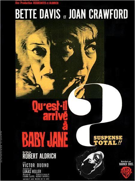 Affiche Qu'est il arrivé à Baby Jane?, Aldrich, 1962