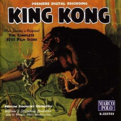 Pochette BO King Kong, Cooper et Schoedsack, 1933