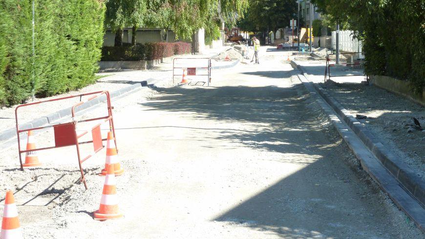 Des travaux d'été rue Marc Sangnier à Valence
