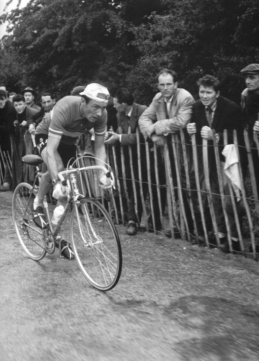 1958 - Charly Gaul bat Anquetil dans le contre-la-montre