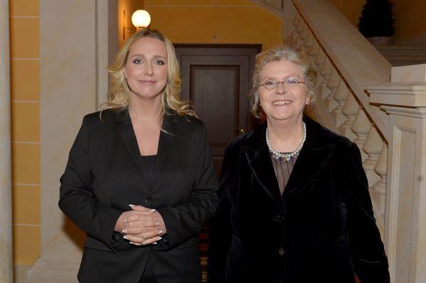 Eva Wagner-Pasquier et Katharina Wagner