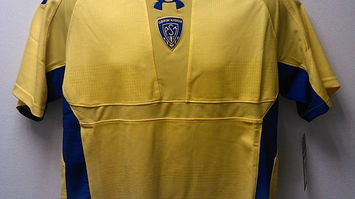 C'est ce maillot que porteront les joueurs de l'ASM pour la saison 2013-2014
