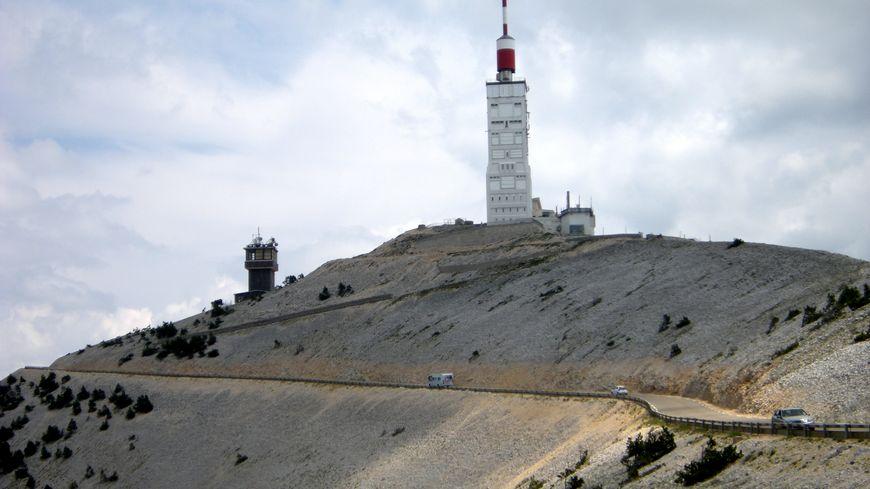 Mont Ventoux : sommet nord