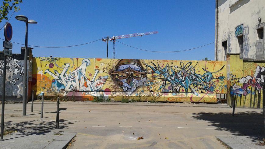 Le squat de l'avenue Thiers, après sa fermeture à Bordeaux