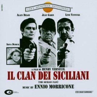 Pochette BO Le Clan des siciliens, Henri Verneuil, 1969