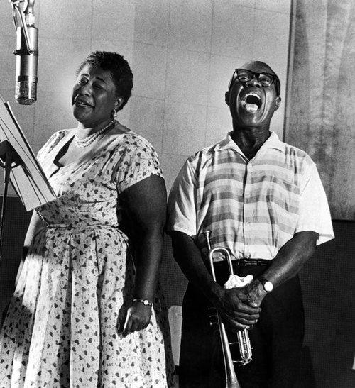 Ella Fitzgeralrd & Louis Armstrong, 1950