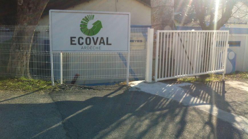 Le site Ecoval en Ardèche
