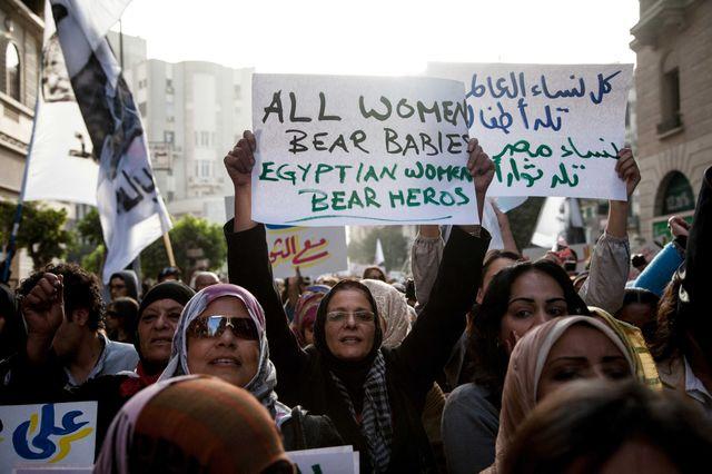 Les femmes de la révolution égyptienne