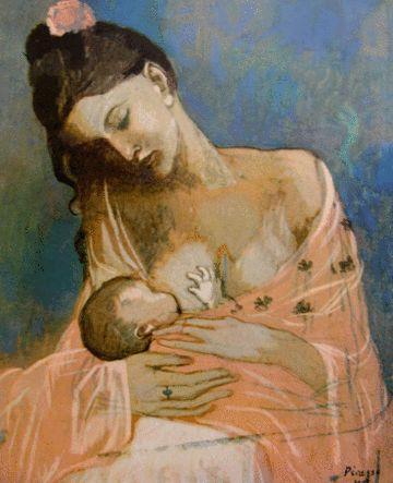 La mère et l'enfant, Pablo Picasso