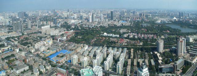 Vue de Tianjin