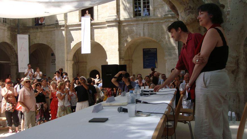 Vincent Baudriller et Hortense Archambault ovationnés