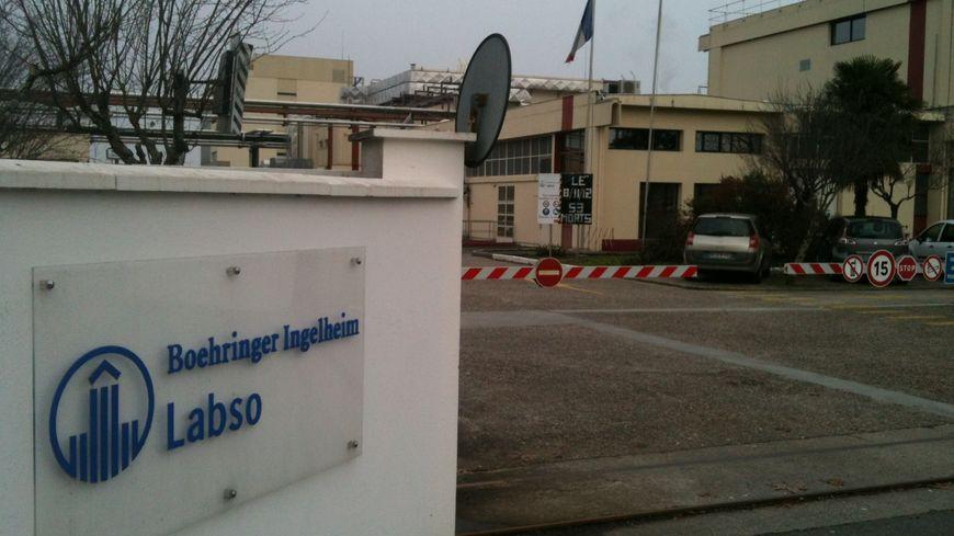 Le site de Labso, à Blanquefort