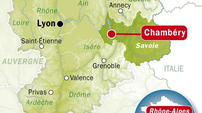 Chambéry, en Savoie. jeune fille étranglée à Mérande