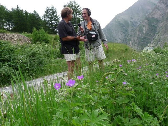 Christian Couloumy et Denis Cheissoux autour du Mont Guillaume