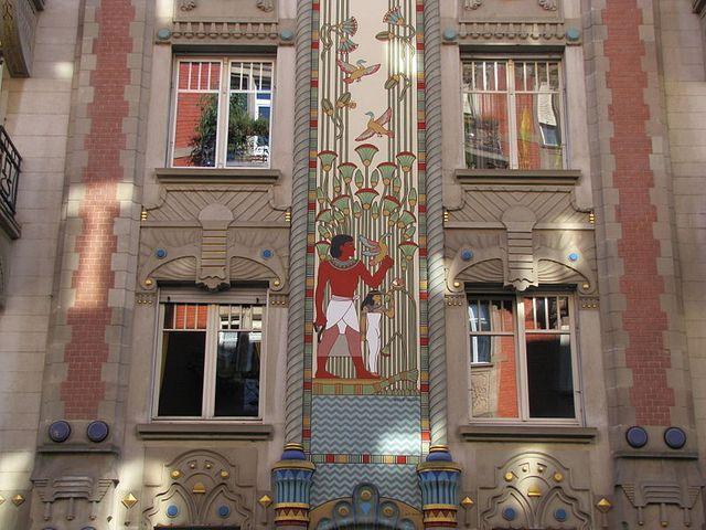 la Maison égyptienne Strasbourg (Bas-Rhin)