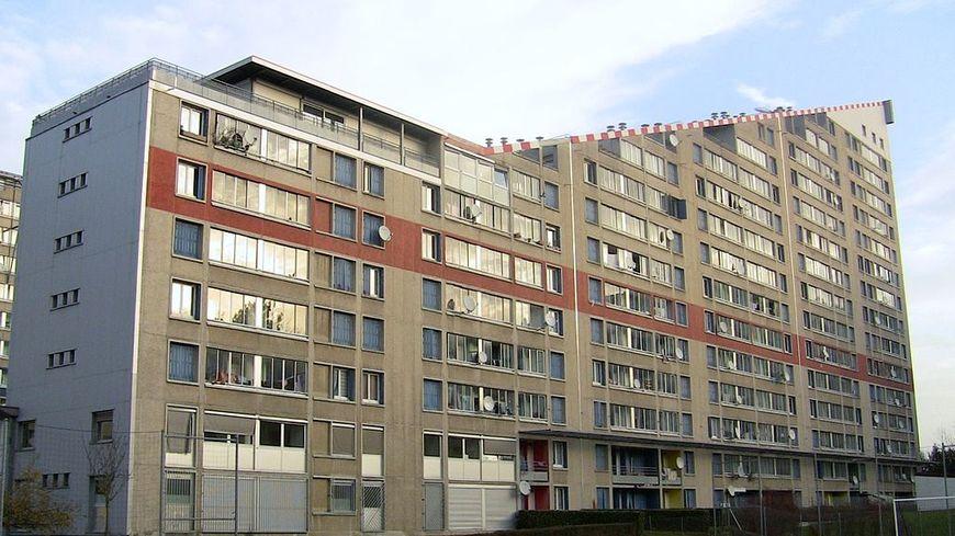 Bureau HLM les 408 quartier de Besançon