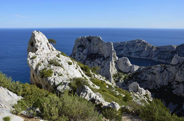 Calanques à Marseille