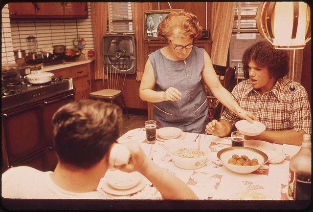 Le dîner de la famille Bruno