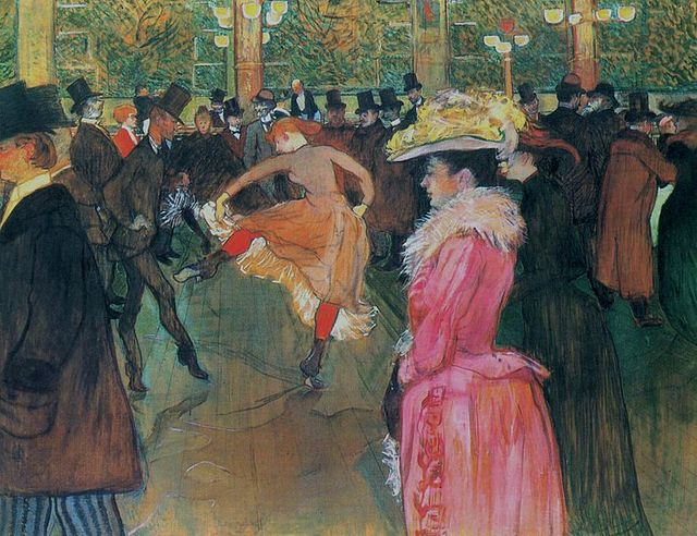 Au Moulin-Rouge, 1890