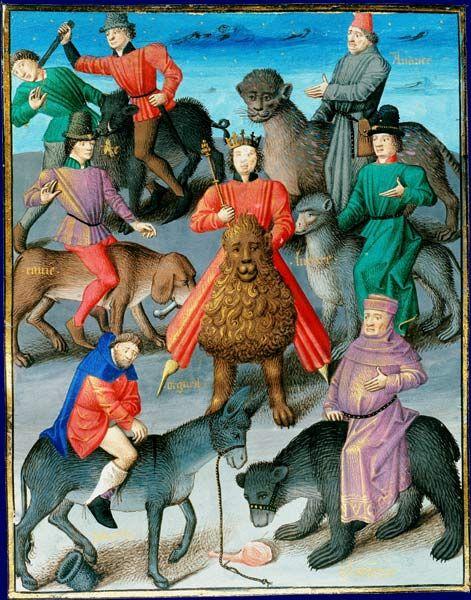 Allégorie des péchés capitaux, 1463