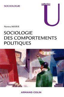 Sociologie des comportements politiques