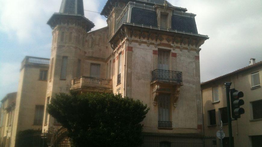 La maison à Saint-Hippolyte, cible des malfaiteurs dans la nuit de mercredi à jeudi.