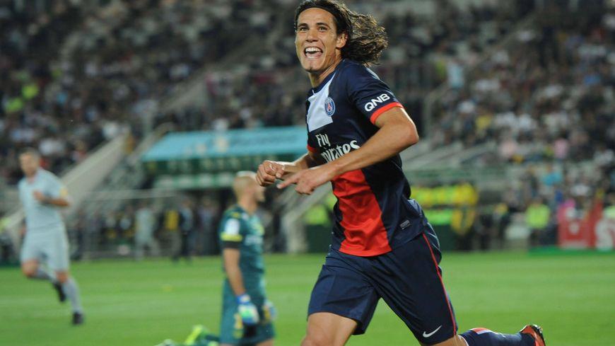 Edinson Cavani a signé son deuxième but en deux matchs de L1 avec le PSG