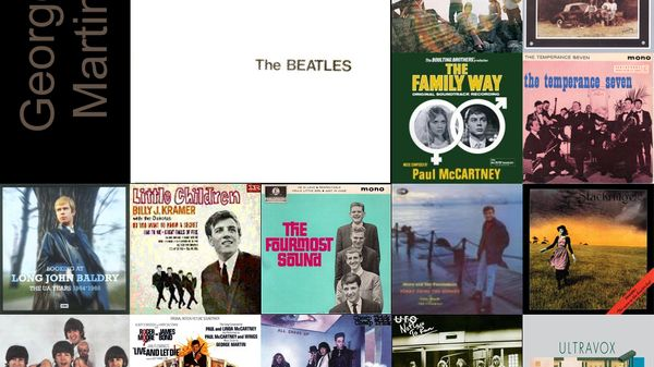 "George Martin : la sélection ""Label Production"""