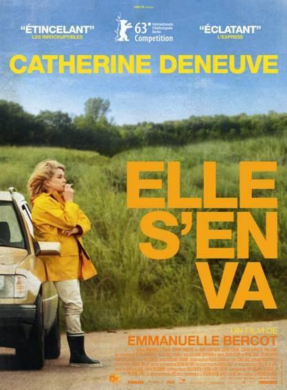 """Deneuve  film """"Elle s'en va"""""""