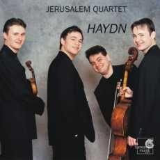 Visuel CD - Haydn Jerusalem Quartet Harmonia Mundi