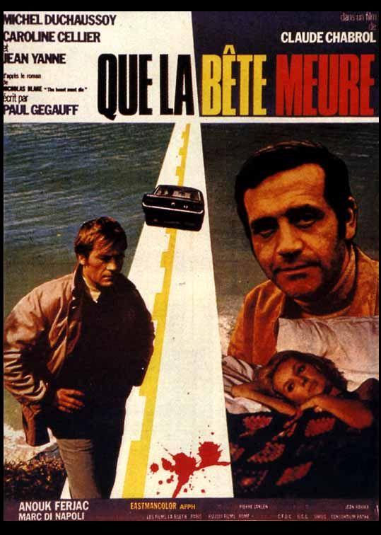 """Affiche du film """"Que la bête meure"""", 1969"""