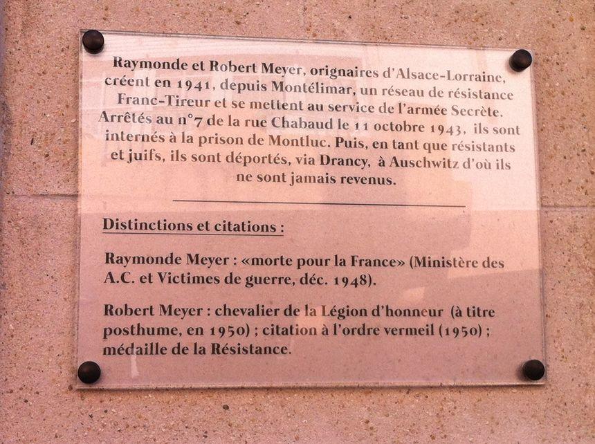 Montélimar rend hommage à un couple de résistants