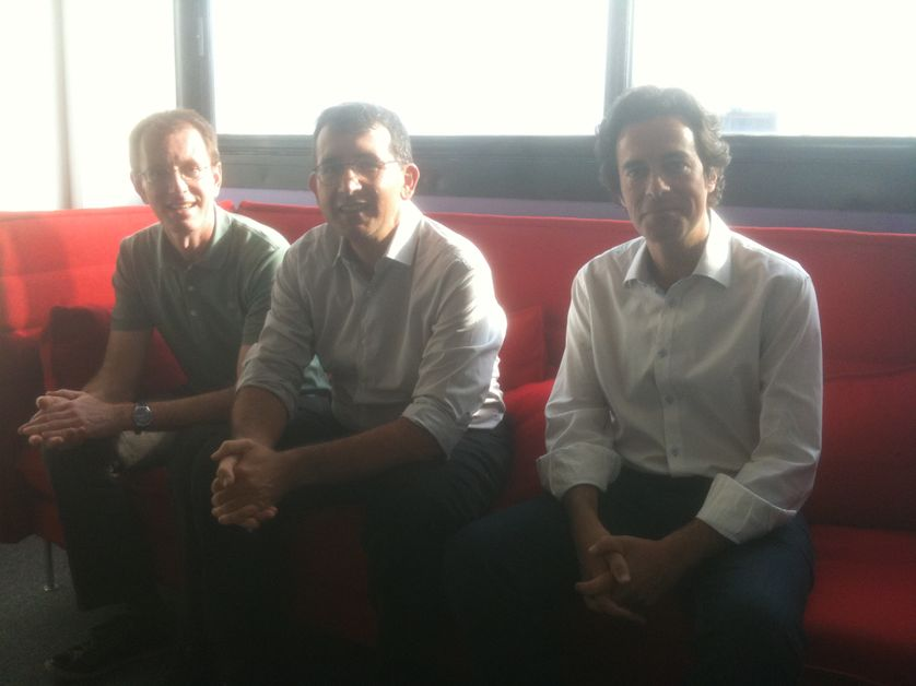 Patrice Baubeau, Christophe Destais et Philippe Herlin