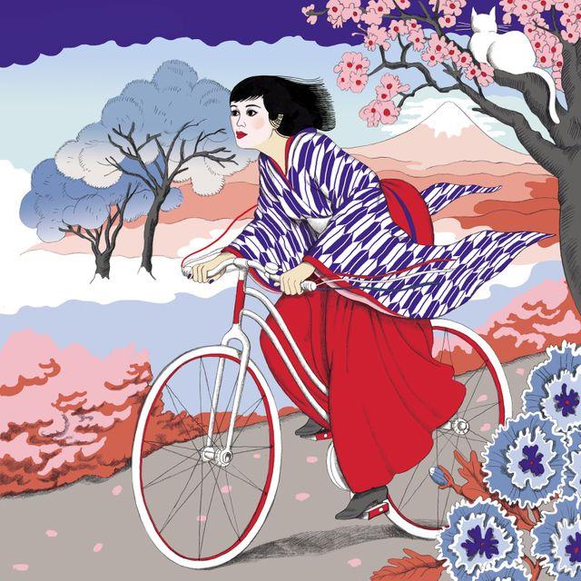 Kumisolo La femme japonaise
