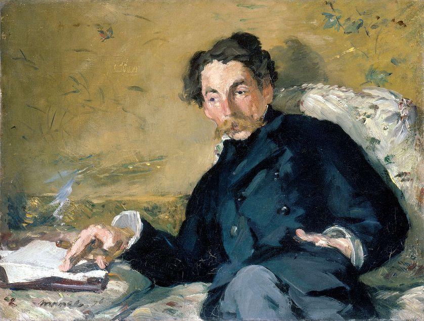 Stéphane Mallarmé par Edouard Manet, 1876