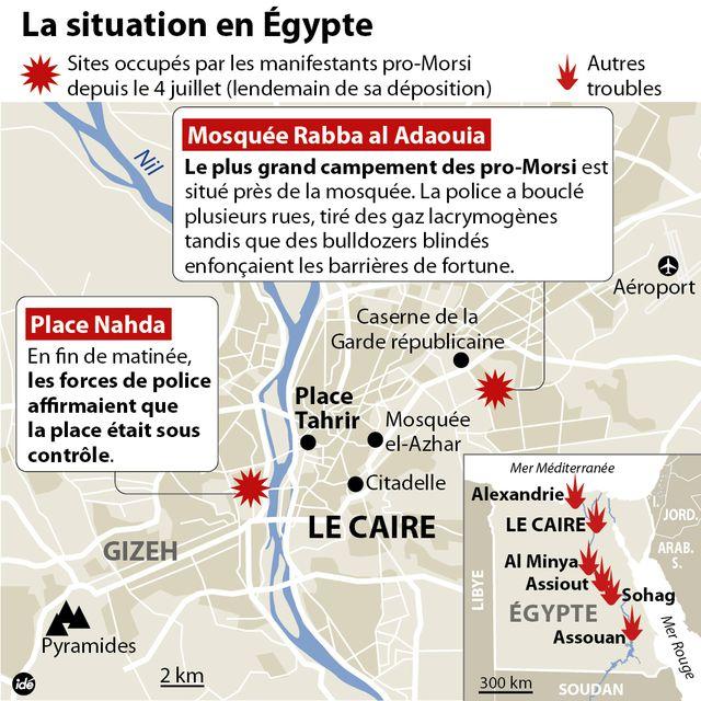 Bain de sang au Caire