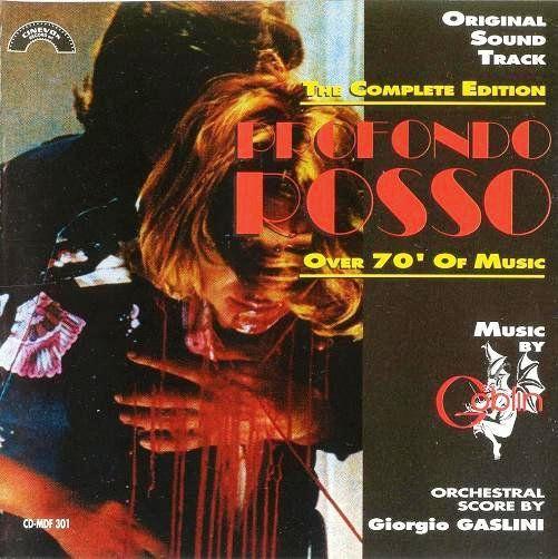 """Profondo Rosso"" de Dario Argento, BO"