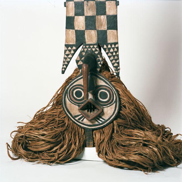 Masque du Burkina Faso