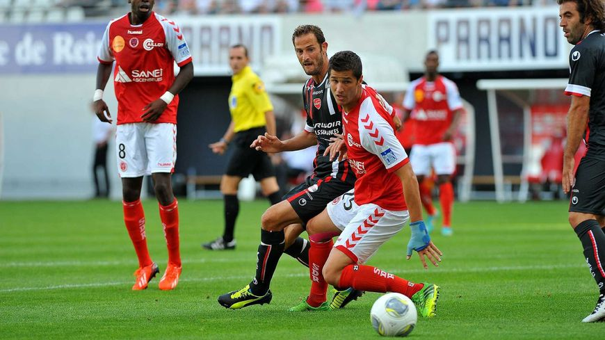 Foot stade de Reims contre Valenciennes