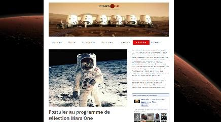 Candidatures Mars One