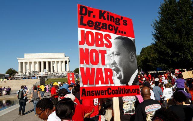 Célébration du 50e anniversaire du discours de Martin Luther King