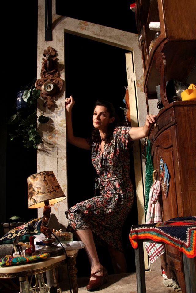 """Zabou Breitman joue dans """"La compagnie des spectres"""""""