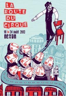 La route du cirque 2013