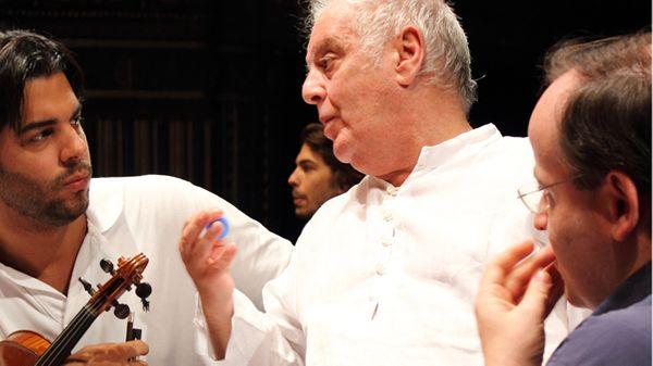 Entretien avec Daniel Barenboim et le West-Eastern Divan Orchestra