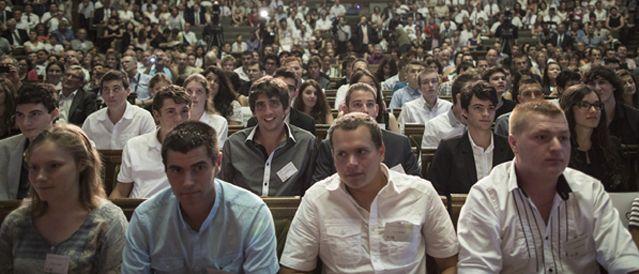 Etudiants à la Sorbonne