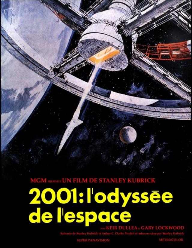 2001, Odyssée de l'espace, Stanley Kubrick, 1968