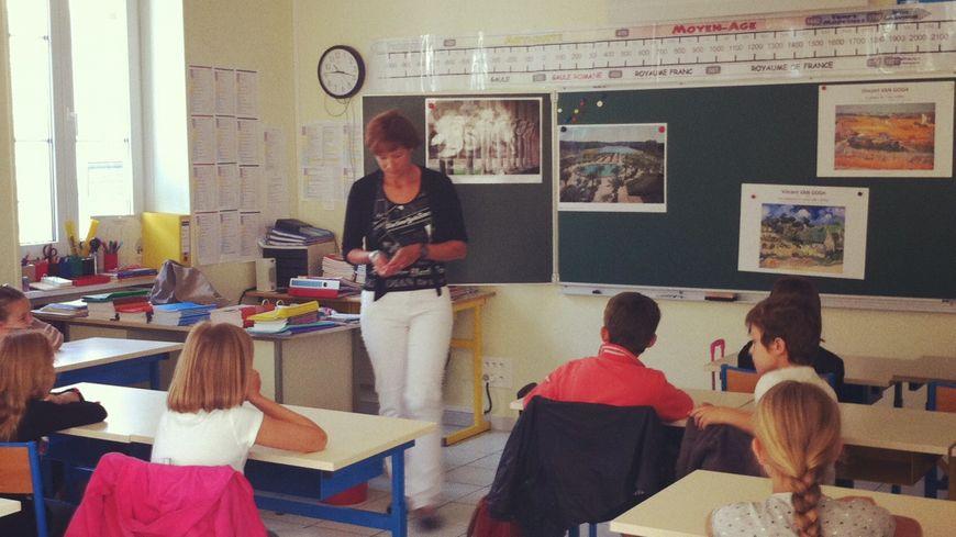 Rentrée des classes dans une école primaire (photo d'illustration).