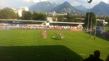 Le Stade Français à Grenoble